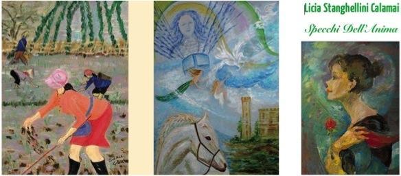 Due mostre in contemporanea: Annie Gheri, Moirym - Licia Stanghellini Calami