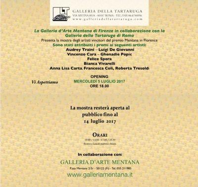Sezione Pittura 1° Premio ex aequo Audrey Traini - Luigi De Giovanni